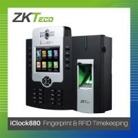 ZKTeco Contactless ID & Fingerprint IClock880 Biometrics