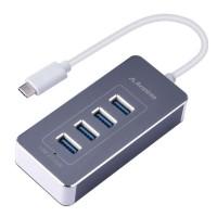 Avantree (HUB001)- 4Port USB-C to USB 3.0 Portable Hub